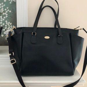 Large Leather Coach bag